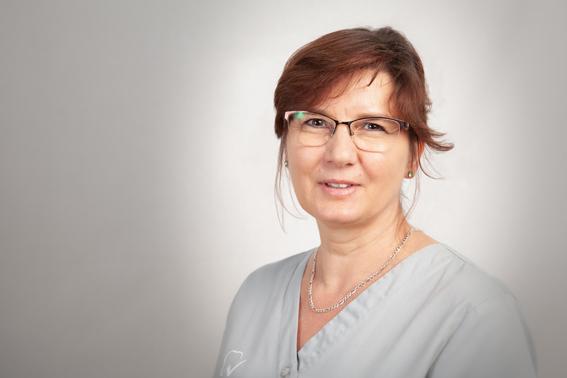 Portraitbild von Frau Schweger